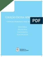 Ceará - Coleção Escola Aprendente - Ciências Humanas e suas Tecnologias