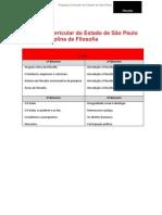 Proposta Curricular do Estado de São Paulo para a Disciplina de Filosofia