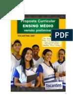 Tocantins - Proposta Curricular