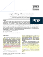 Analysis and Design of Focused Demand Chains