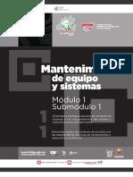 Guía formativa. Mantenimiento de Equipo y Sistemas 11. CECyTEH 2012 Gobierno Hidalgo
