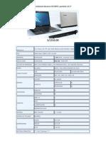 Notebook Advance CN 4047