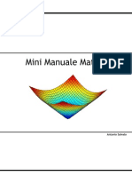 Mini Manuale Matlab 1