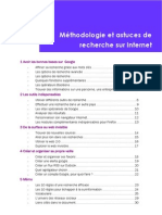 Guide de La Recherche en Ligne