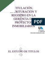Titulacion Escrituracion y Registro
