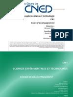 Sciences expérimentales et technologie CM 1 integral ~ Guide