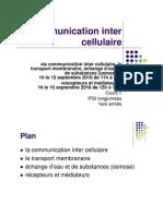 3. Communication Inter-cellulaire