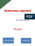 Final Performance Appraisal