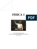 Física 1  Hugo Medina Guzmán