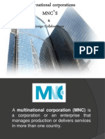 Multi National Corporations