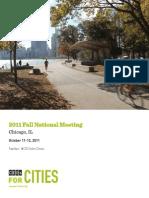 2011 Fall National Meeting Agenda