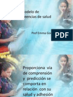 Modelo Creencia de La Salud - Copia