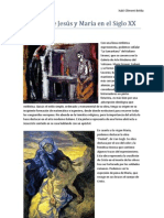 Pinturas de Jesús y María en el Siglo XX