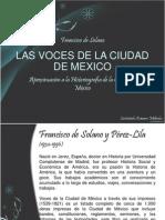 Las Voces de La Ciudad de Mexico