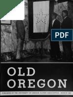 University of Oregon - Mar 1943