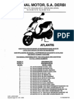 50cc 2T Atlantis Parts Manual 09 00