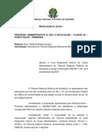 Regulamento Do Processo Administrativo PVH-RO