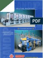 Sandip Machinery Mfrs Co Rotogravure Printing Machine