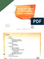 Estudio de Inversión en Comunicación digital en España (iab Spain) 2011