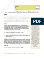 The Diagnostic and Statistical Manual of Mental Disorders