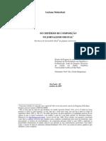 Os critérios de composição no jornalismo digital (Projeto Doutorado_2007)