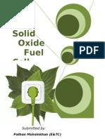Bloom Box-Solid OXide Fuel Cells