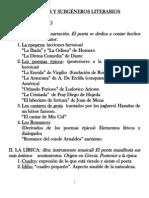 GÉNEROS Y SUBGÉNEROS LITERARIOS (1)