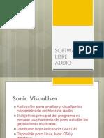 Presentation hardware y software libre de audio
