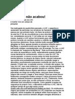 O Mundo não Acabou - Marcelo Gleiser - Ciência - física - Astrofísica