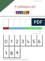 Tarjetas Para Trabajar Posicion Numerica