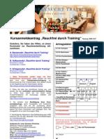 Kursanmeldeantrag Formular 2008-12-07