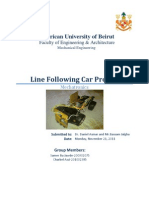 Line Following Car