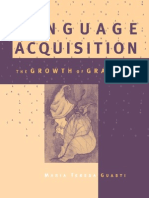 Language Acquisition 2002