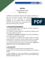 EDITAL Processo Seletivo AIESEC São Luís