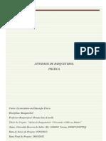 PLANO de AULA Basquete - Ativ Pratica