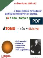 introdução aos modelos atômicos