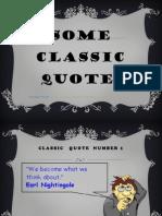Classic Quotes
