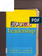 Virgin Case Study Brand Leadership Book Publication Info