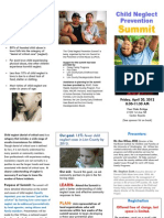 Child Neglect Prevention Summit Brochure Pub