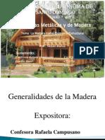 La Madera Como Elemento Estructural