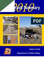 Utah Crash Summary 2010