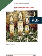 Las Velas Del Profesor Abelardo en Chino