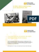 Presentación del proyecto_ los derechos de los niños que viven en situación de calle
