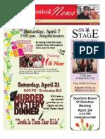 2012 April Newsletter