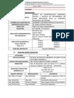 """Resumen Ejecutivo del proyecto """"Sistema de alcantarillado sanitario, pluvial y plantas de tratamiento de aguas residuales para la cabecera parroquial de Orianga, cantón Paltas"""""""