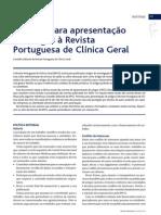 Normas Public Artigos RPCG