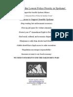 Flyer/Business Outreach SSA-Spokane