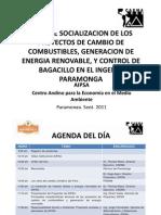 1. Portaday Agenda
