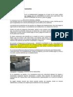 CLASIFICACION DE RESTAURANTES