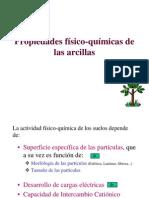 PROPIEDADES FISICO-QUIMICAS DE LAS ARCILLAS